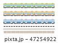電車 線路 47254922