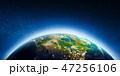 惑星 地球 マップのイラスト 47256106