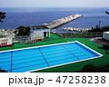 伊豆諸島 利島のプール 47258238