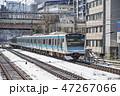 列車 電車 雪の写真 47267066