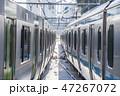 【山手線 京浜東北線 並走 田端駅】 47267072
