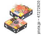 おせち お節 おせち料理 水彩 正月 伝統料理 47272620