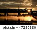 中央線の日の出 47280380