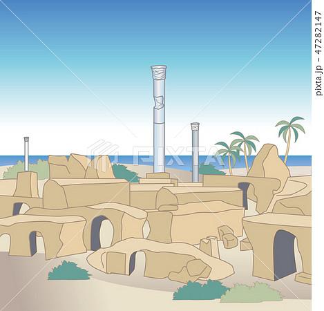 カルタゴ遺跡のイメージ 47282147