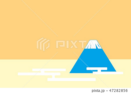 富士山 イラスト 47282856
