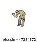 元気 楽 膝のイラスト 47284572
