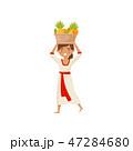 くだもの フルーツ 実のイラスト 47284680