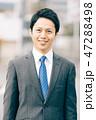 男性 ビジネスマン ビジネスの写真 47288498