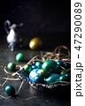 イースター たまご 卵の写真 47290089