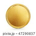 コイン 金 黄金のイラスト 47290837