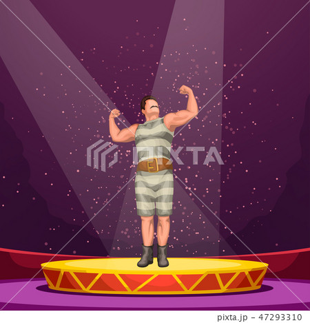 circus athlete on stage 47293310