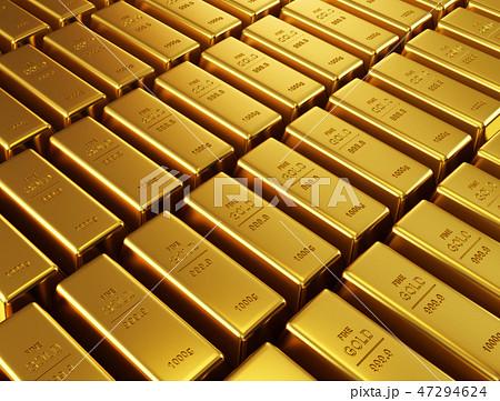 Gold bars 47294624