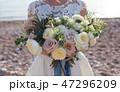 ウェディング ブーケ 新婦の写真 47296209