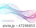 バックグラウンド 化学 遺伝子のイラスト 47296853