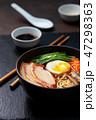 ラーメン 食 料理の写真 47298363
