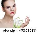 女性 美容 メスの写真 47303255