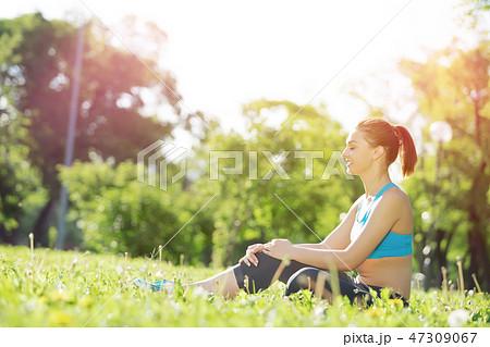 Enjoying minutes of solitude 47309067