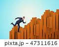 ビジネスマン 実業家 ビジネスの写真 47311616