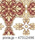 柄 模様 黄金のイラスト 47312496