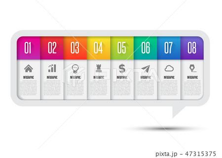 Infographics design template 47315375
