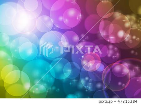 シャボン玉の背景素材 47315384