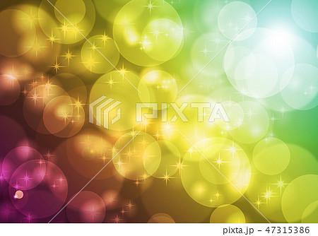 シャボン玉の背景素材 47315386