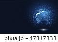 テクノロジー ネットワーク 通信のイラスト 47317333