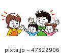 家族 会話 楽しいのイラスト 47322906