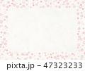 桜 春 フレームのイラスト 47323233