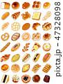 いろいろなパン 47328098