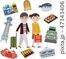 大阪 観光 旅行 スポット 47343406