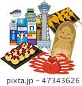 大阪 観光 旅行 スポット 47343626