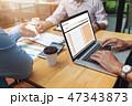 ビジネス 職業 投資の写真 47343873
