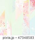 桜 背景 和柄のイラスト 47348583