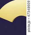 背景 金箔 和柄のイラスト 47348609