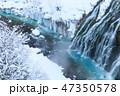 厳冬の北海道_白ひげの滝 47350578