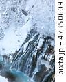 厳冬の北海道_白ひげの滝 47350609
