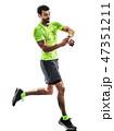ランナー ランニング ジョギングの写真 47351211
