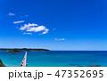 角島 角島大橋 橋の写真 47352695