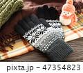 手袋 冬 ファッション小物 防寒 47354823