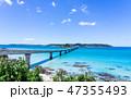 角島 角島大橋 橋の写真 47355493
