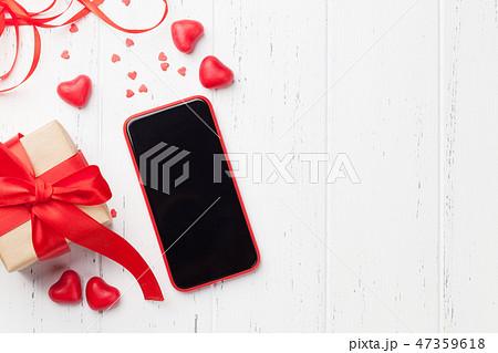 Valentine's day greeting card 47359618