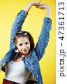女の子 女児 女子の写真 47361713