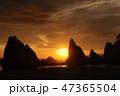 浄土ヶ浜の日の出 47365504