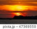 長崎 夕陽 風景の写真 47369350