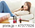 女性 若い女性 アジア人の写真 47377026