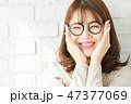 女性 若い女性 アジア人の写真 47377069