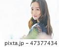 ポートレート 女性 若い女性の写真 47377434