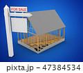 立体 3D 3Dのイラスト 47384534