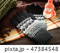 手袋 冬 ファッション小物 防寒 47384548